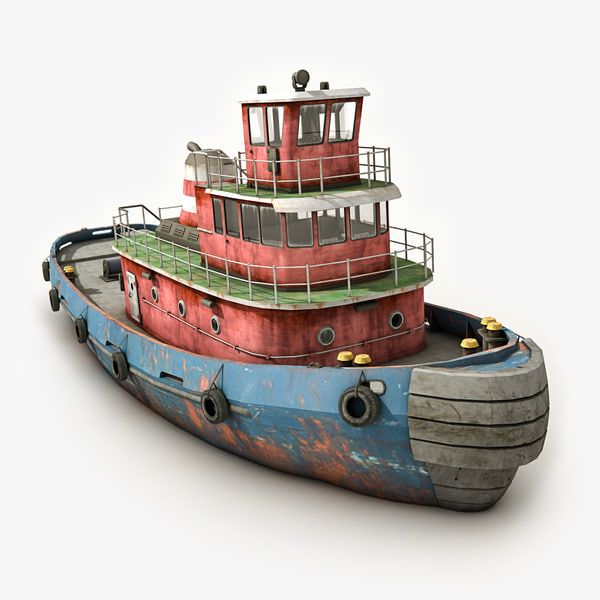 tugboat 2 3d 3ds