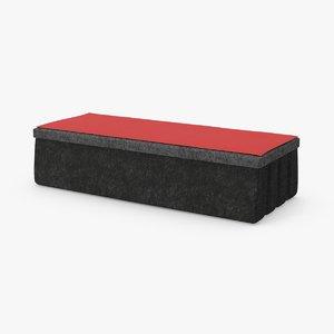 3d blackboard eraser 01