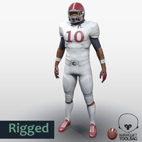 American Football Player Ver1 game character