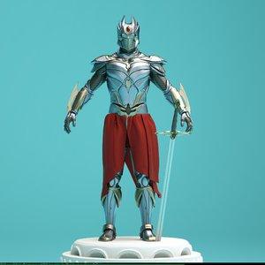 armor sleek sci-fi 3d c4d