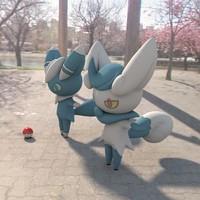 3d model pokemon meowstic