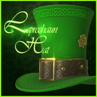 3d model leprechaun hat