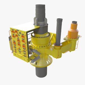 3d model of ths subsea
