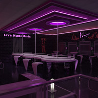 nightclub lighting 3ds