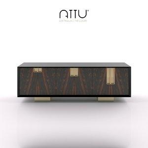3d attu series cubic - model