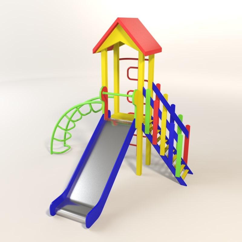 slide child children c4d