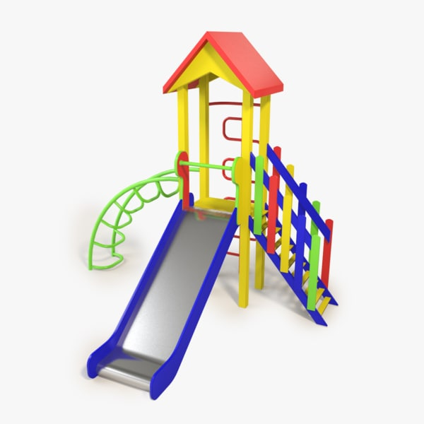 slide child children c4d