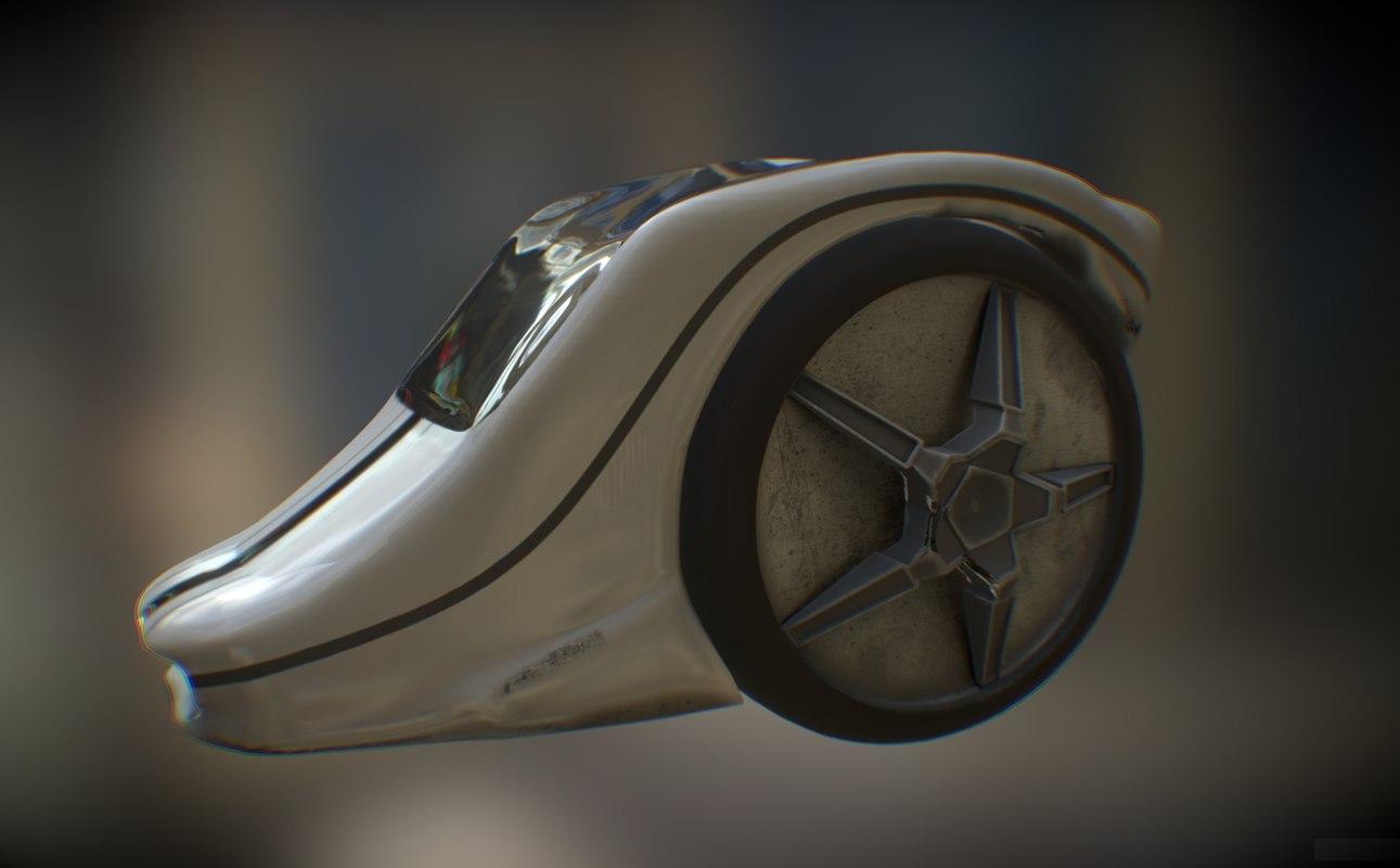 solo wheel car - max