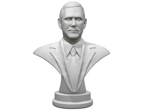 mike pence 3d obj