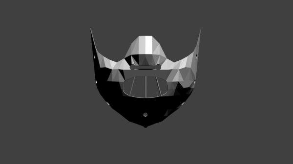 3d model of hannibal mask