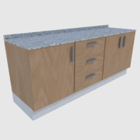 ready cabinet - games 3d model