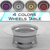 table wheels 3d max