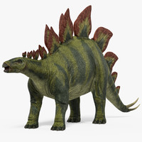 stegosaurus realistic 3ds