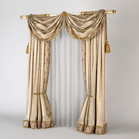 Classic Silk Curtain