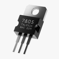 7805 chip component dip obj