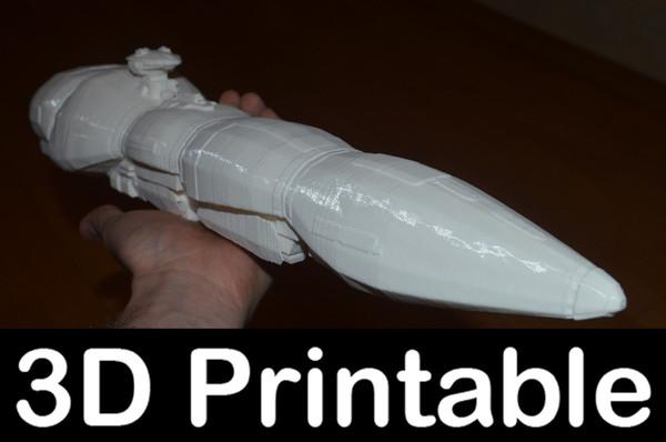star wars imperial strike 3d model