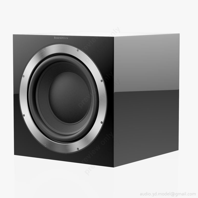 3d subwoofer bowers wilkins asw model