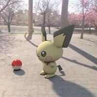 3d pokemon pichu