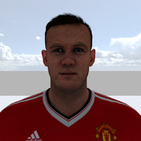 3d model wayne rooney