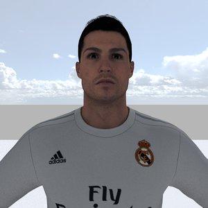 3d model ronaldo games