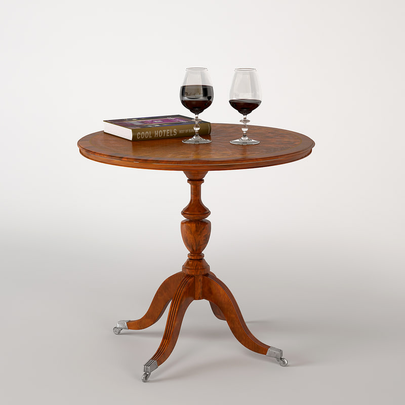 classic wine table