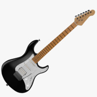 fender stratocaster electric guitar obj