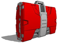 Iron man Mk.V Armor Suitcase