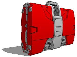 iron man mk v 3d model