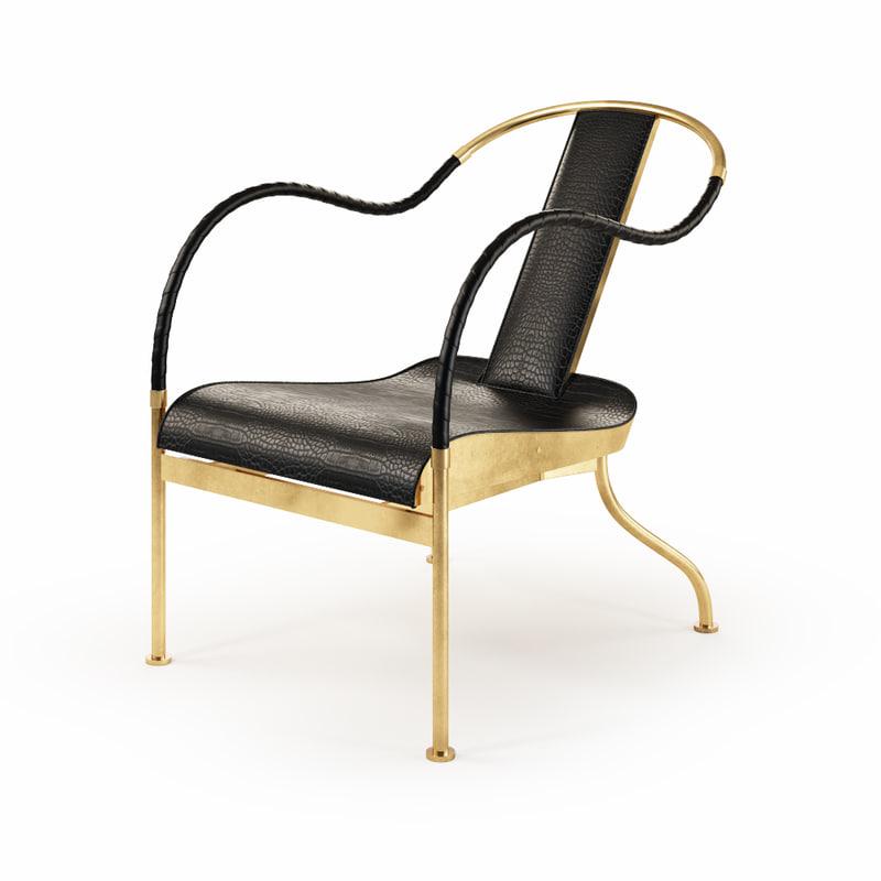 3d el rey chair -