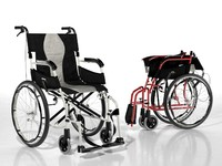 3d karma ergo flight wheelchair model