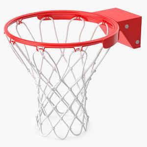 basketball hoop ball 3d max