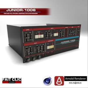 c4d fait junior-1006 arnold renderer