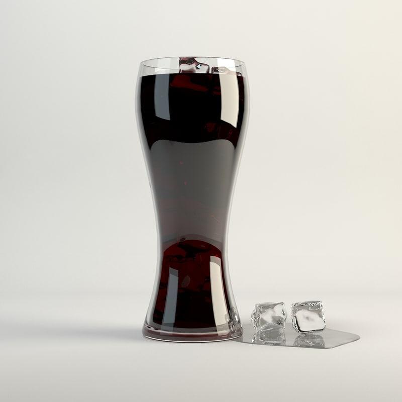 cola ice 3d max