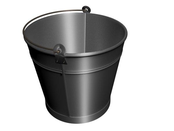 new bucket 3d max