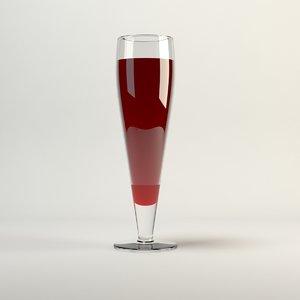 3ds ikea primitiv beer-wine glass