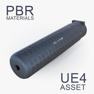 max suppressor attachment barrel