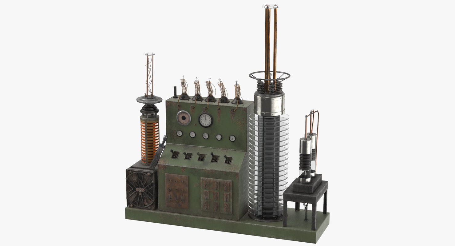 obj static electrical influence machine
