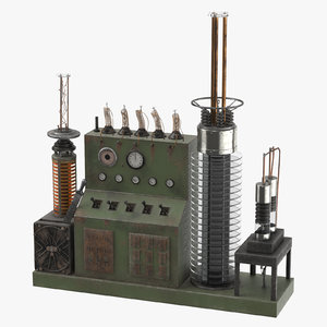 obj static electrical influence machine