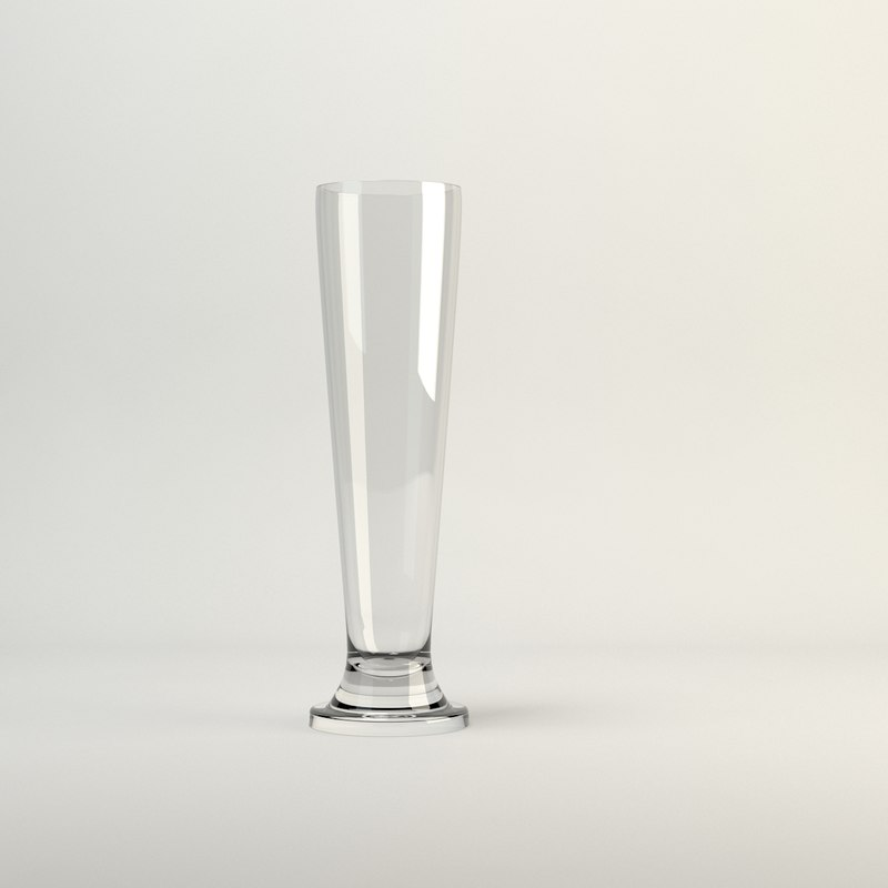 cin tall beer glass obj