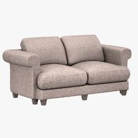 3d model couch sofa