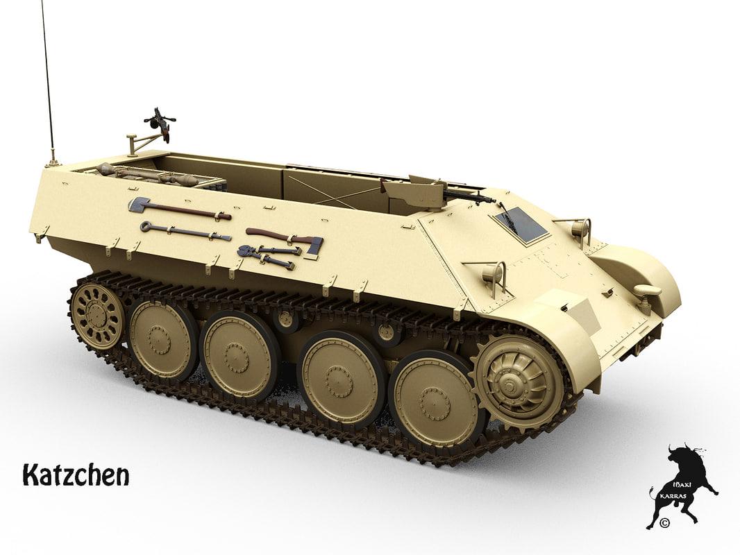 3d ifv katzchen model