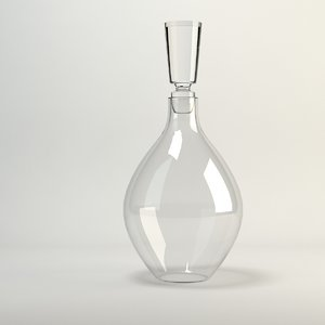 julia decanter 3d model
