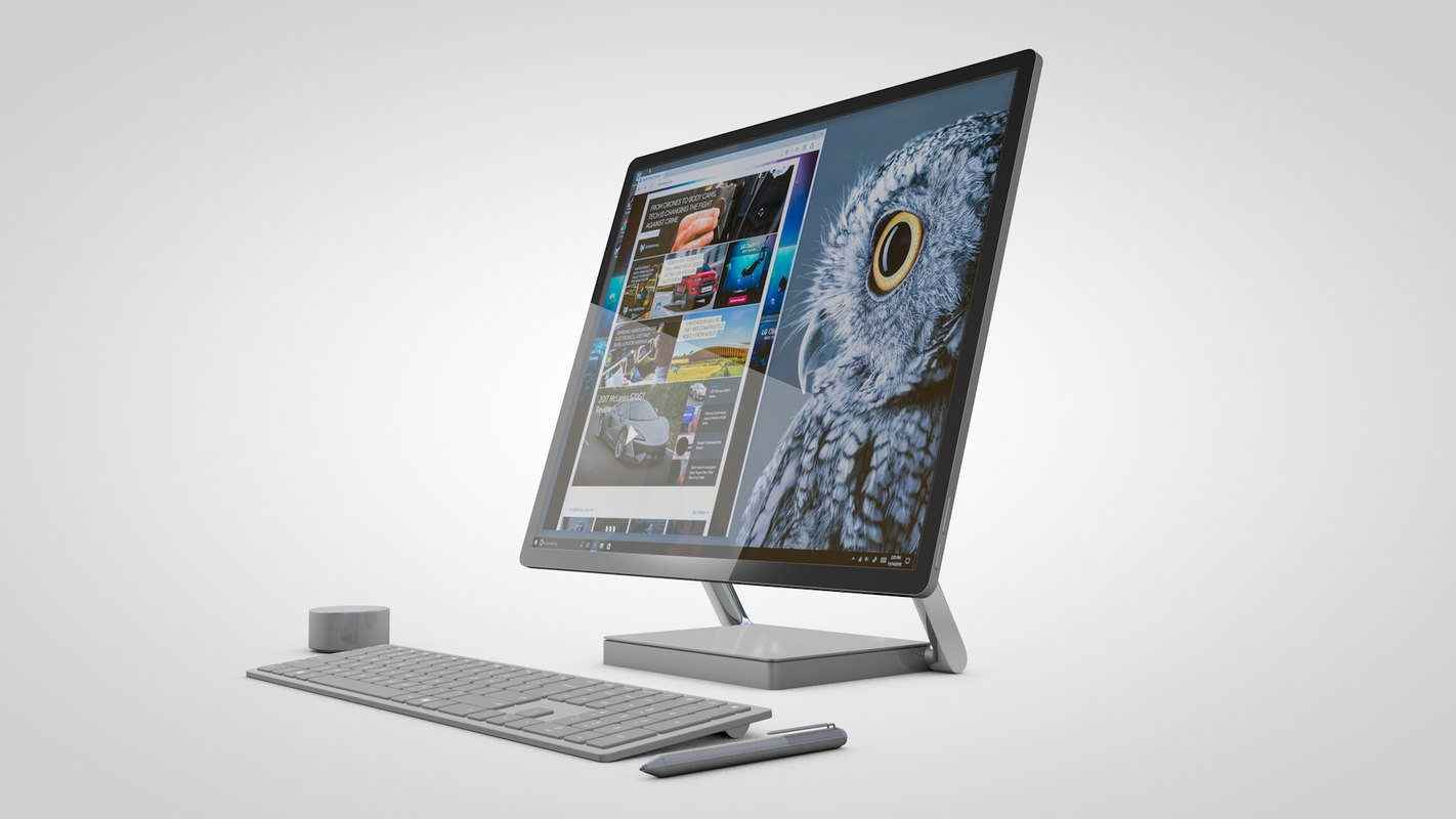 microsoft surface studio c4d