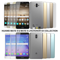 3d model realistic huawei mate 9