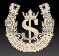 horseshoe symbol dolar 3d obj