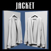 jacket hanger 3d blend