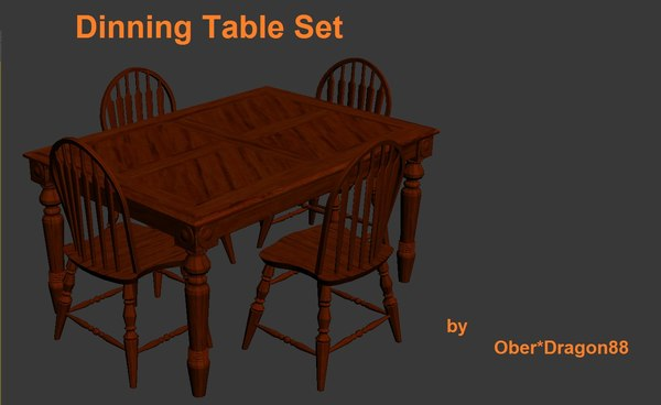 dinning table chair set max
