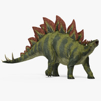 stegosaurus walking pose 3ds