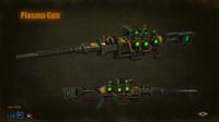 3d sniper plasma gun