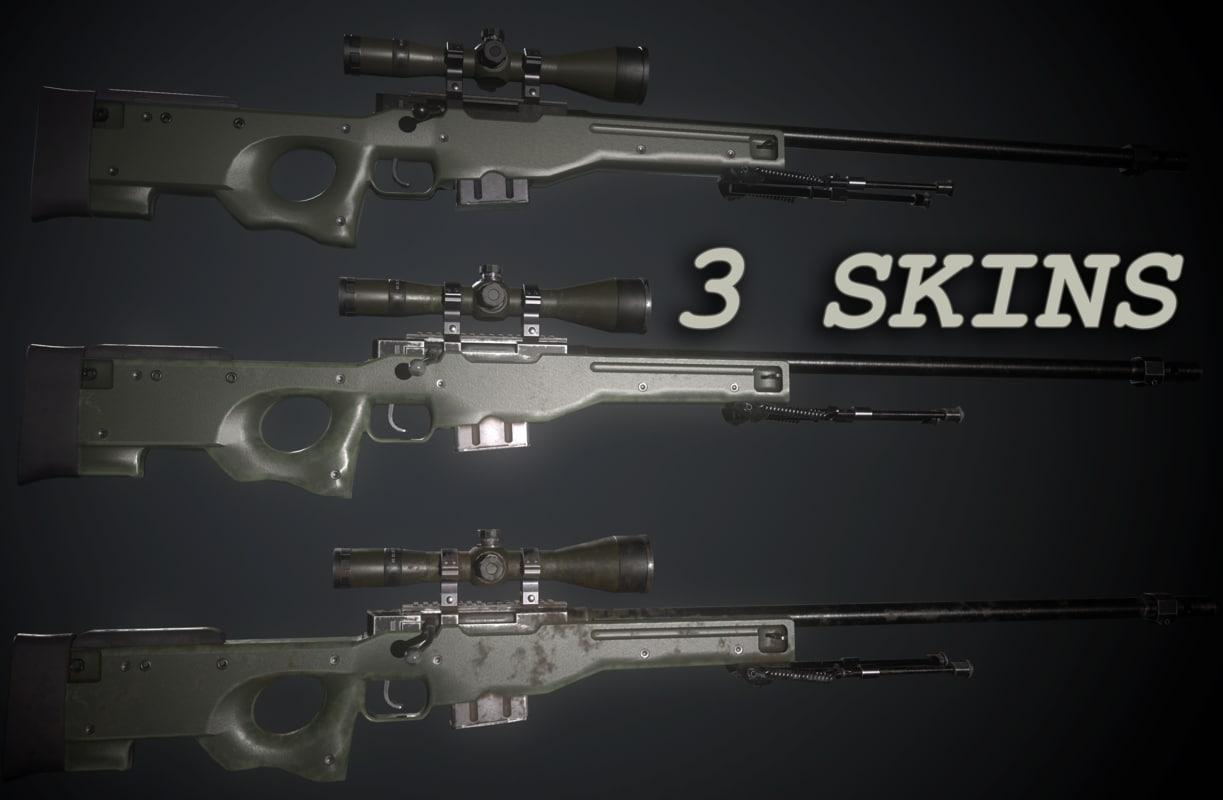 3d l96a1 awp model